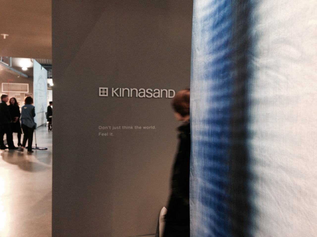 Kinnasand Messestand
