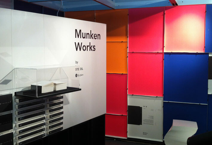 Munken Works Messestand