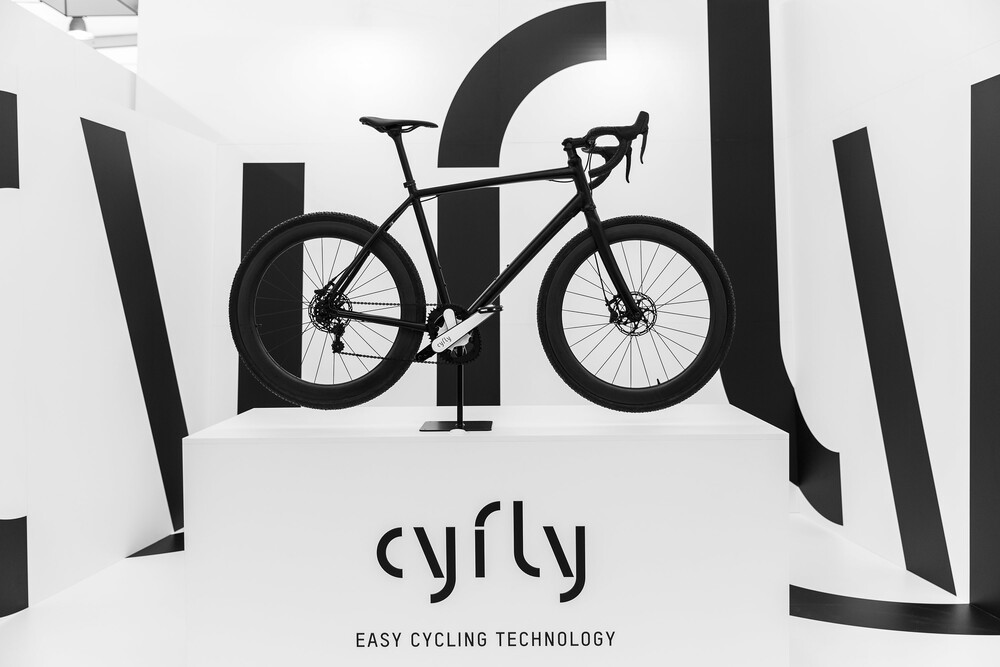 cyfly Messestand