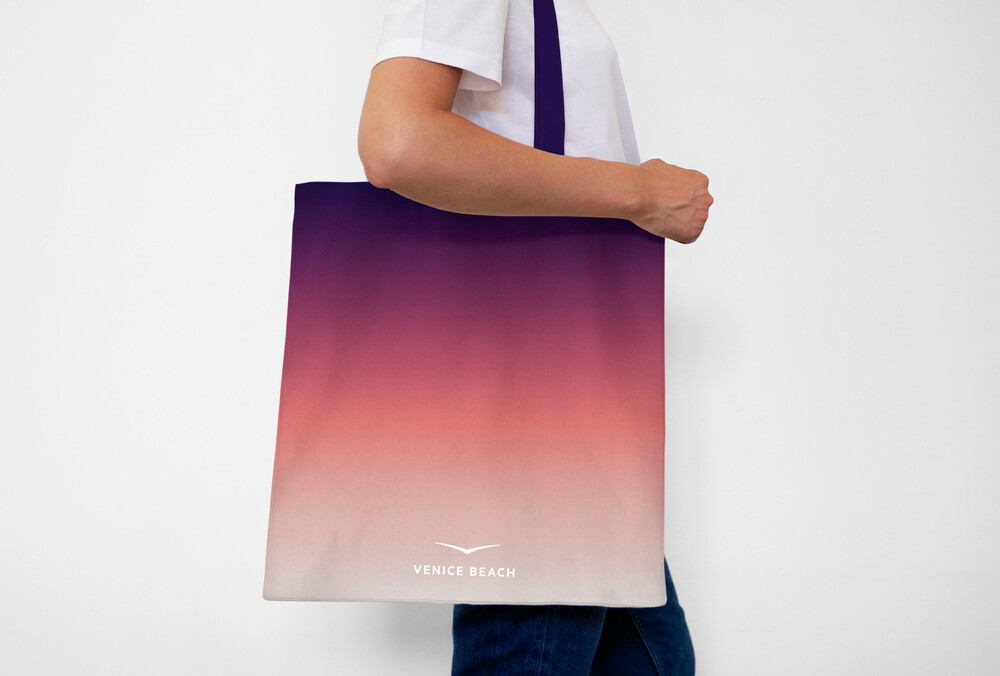 Venice Beach Bag with Gradient